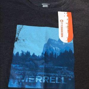 Merrell Men's XL half dome tee mountain graphic